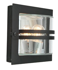 Bern Clear Outdoor Wall Light - London Lighting - 1