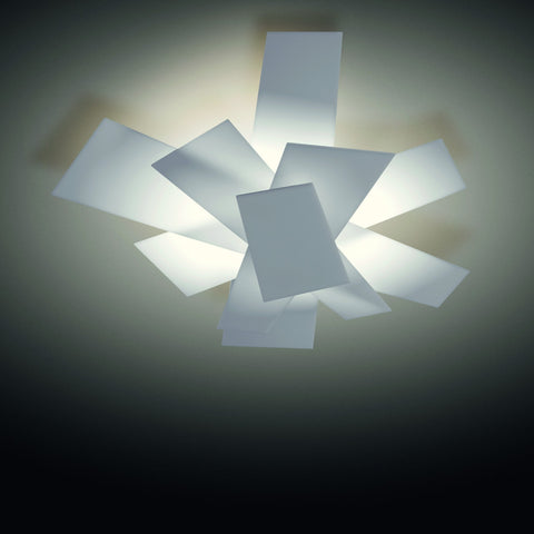 Foscarini Big Bang Wall or Ceiling White - London Lighting - 1