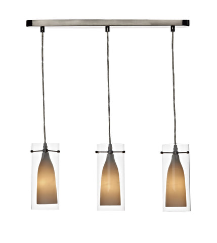 Boda Triple Pendant Ceiling Light - London Lighting - 1