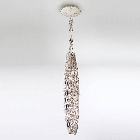 Chrysalis Suspension Pendant with LED in Base