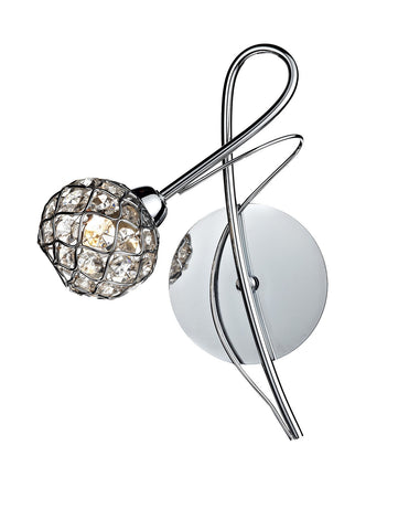 Circa Chrome Wall Light - London Lighting - 1