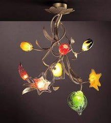 Serip Bouquet 8 Bespoke Chandelier - London Lighting - 1