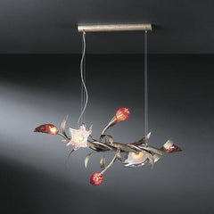 Serip Bouquet 6 Bespoke Chandelier - London Lighting - 1