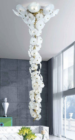 Serip Nenufar 35 Large Lamp Bespoke Chandelier - London Lighting - 1