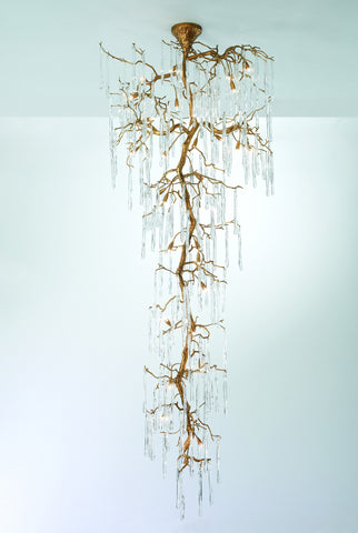 Serip Glamour 21 Lamp Bespoke Chandelier - London Lighting - 1