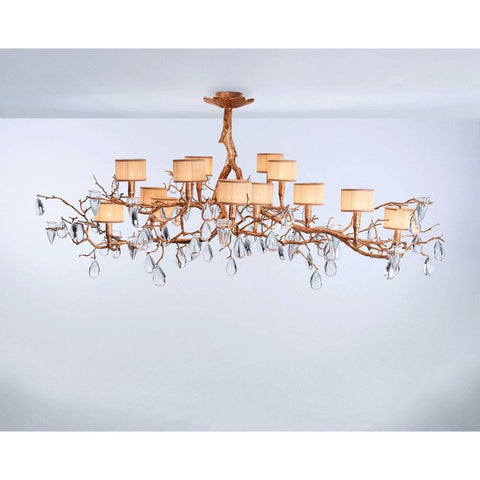 Serip Fascinium 14 Bespoke Chandelier - London Lighting - 1