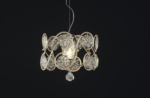 Serip Lines Bespoke Chandelier - London Lighting - 1