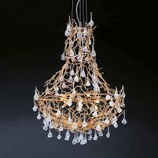Serip Coral 12 Lamp Empire Bespoke Chandelier - London Lighting - 1