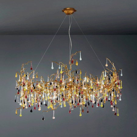 Serip Bijout 25 Lamp Bespoke Chandelier - London Lighting - 1