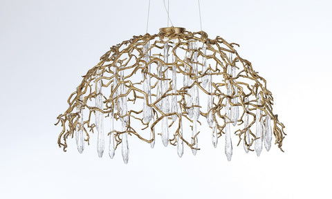 Serip Aqua Dome Bespoke Chandelier - London Lighting - 1