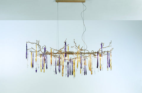 Serip Glamour 10 Lamp Bespoke Chandelier - London Lighting - 1