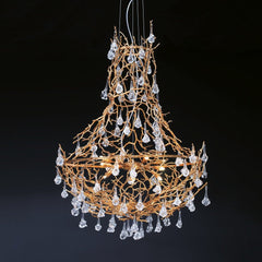 Serip Coral 34 Lamp Empire Bespoke Chandelier - London Lighting - 1