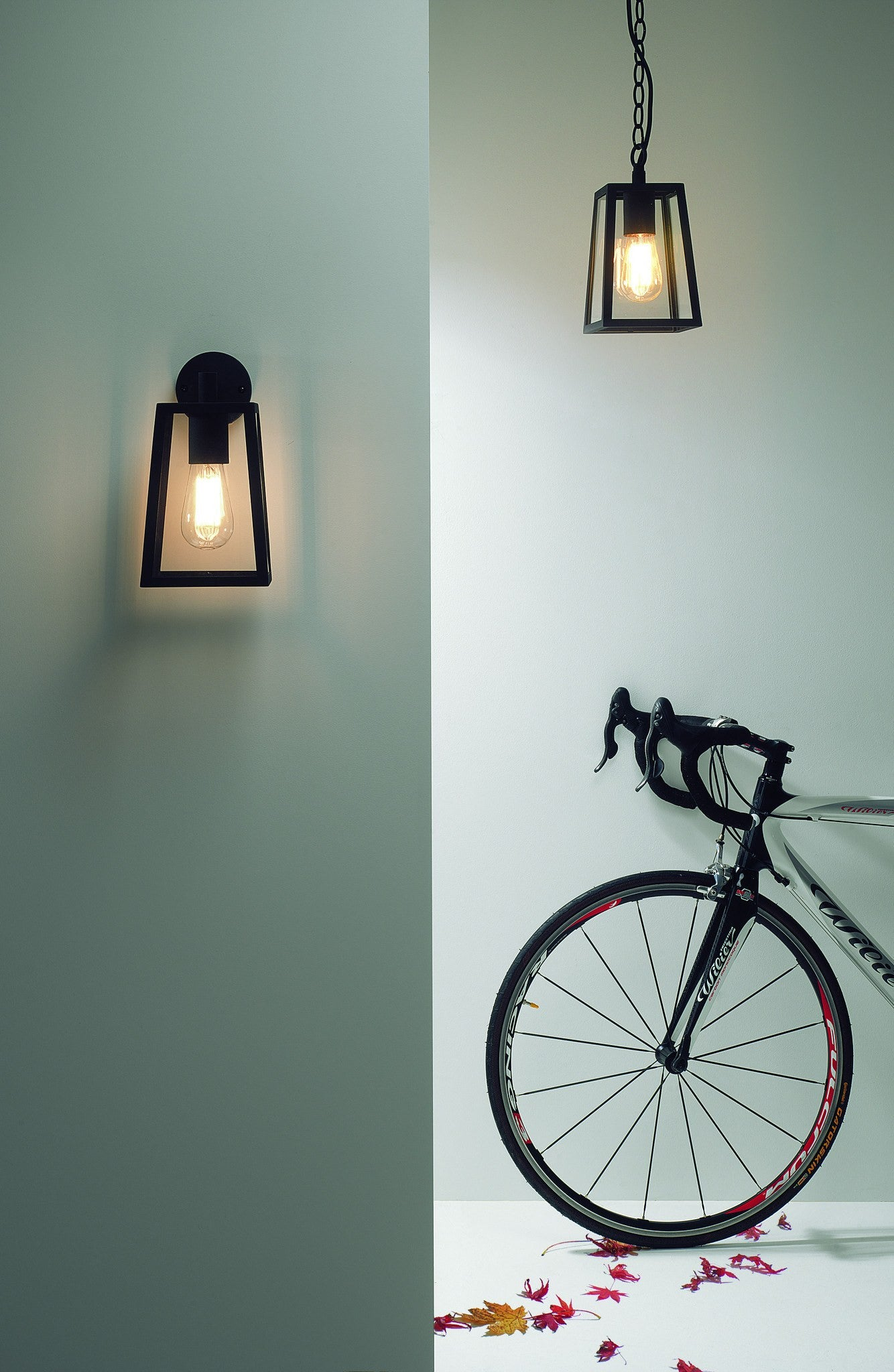 ... Calvi Black Outdoor Wall Light   London Lighting   2 ...