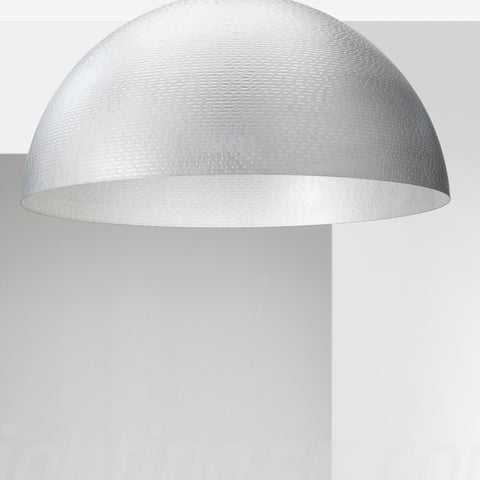 Capri 3 Light 72cm Diameter Dome Flush Ceiling Light