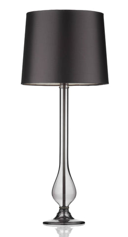 Dillon Smoked Table Lamp - London Lighting - 1