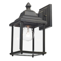 Doyle Black Wall Bracket Lantern - London Lighting - 1