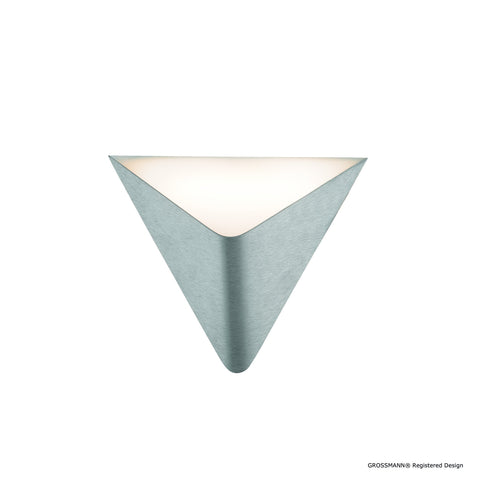 Grossmann Delta 51-781-072 Wall / Ceiling Light In Aluminium - ID 9626