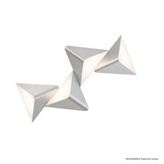 Grossmann Delta Wall / Ceiling Light In Aluminium - ID 7614