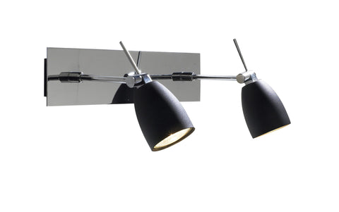 Empire Chrome Double Spotlight - London Lighting - 1