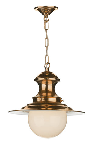 Small Station Lamp in Copper - London Lighting - 1