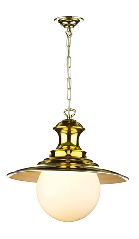 Station Lamp in Brass - London Lighting - 1