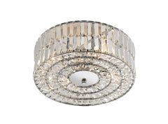 Errol Polished Chrome Ceiling Light - London Lighting - 1