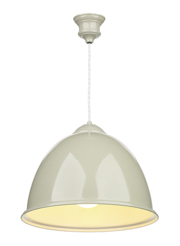 Euston French Cream Ceiling Suspension - London Lighting - 1