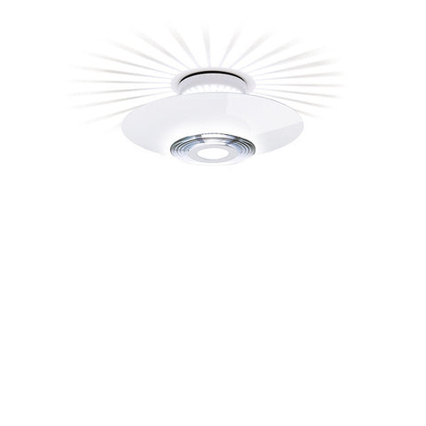 FLOS Moni 1 Light White Ceiling Light - London Lighting - 1