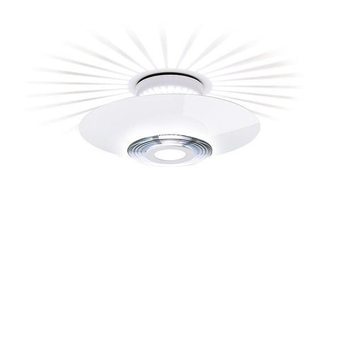 FLOS Moni 2 Light White Ceiling Light - London Lighting - 1