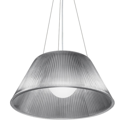 FLOS Romeo Moon S2 Glass Suspension Pendant - London Lighting - 1
