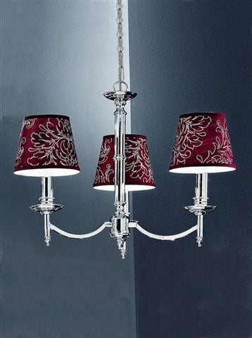 Petrushka 3 Arm Ceiling Light - London Lighting - 1