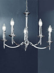 Petrushka 5 Arm Ceiling Light - London Lighting - 1