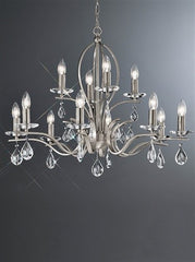 Willow 12 Arm Ceiling Light - London Lighting - 1