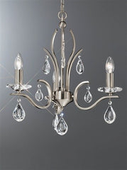 Willow 3 Arm Ceiling Light - London Lighting - 1
