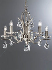 Willow 5 Arm Ceiling Light - London Lighting - 1