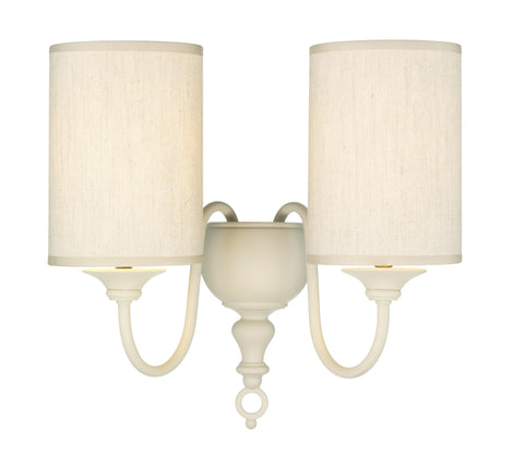 Flemish Cream Wall Light with Shades - London Lighting - 1