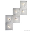 Grossmann Flow 76-811-072 Wall / Ceiling Light In Aluminium - ID 9619