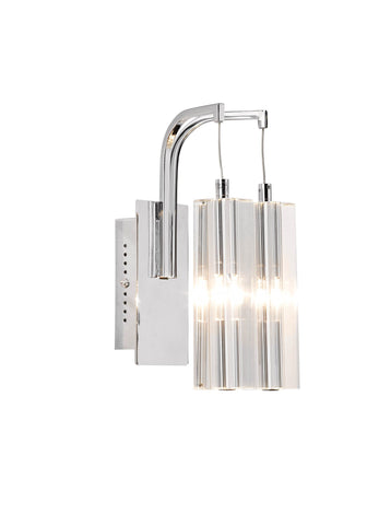 Galileo Chrome 2 Lamp Wall Light - London Lighting - 1