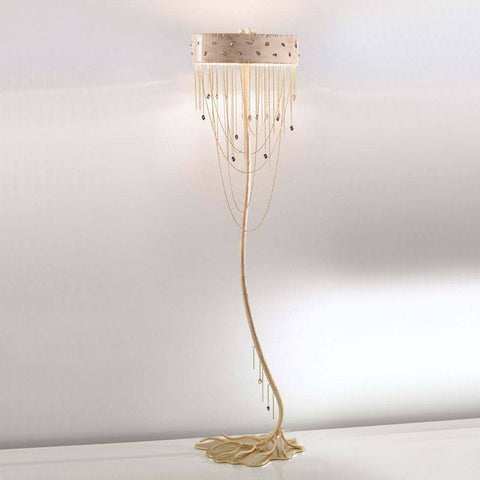 Heritage Murano Glass Floor Lamp