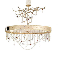 Heritage 8 Light Murano Glass Chandelier