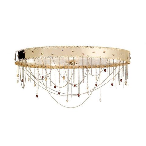 Heritage 8 Light Murano Glass Ceiling Light