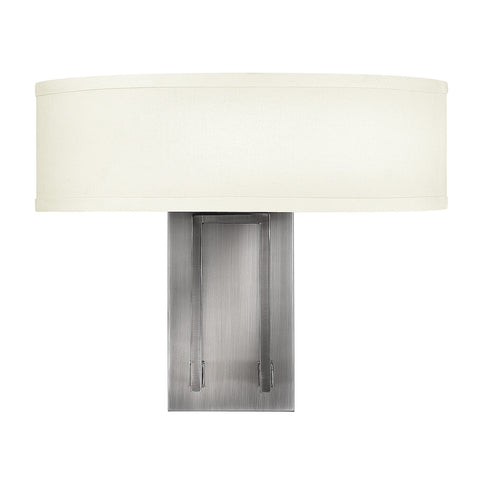 Hinkley Hampton 2 Light Wall Light - London Lighting - 1