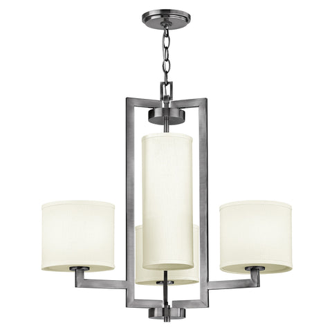 Hinkley Hampton 4 Light Chandelier - London Lighting - 1