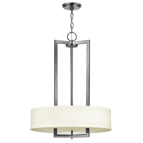 Hinkley Hampton 2 Light Pendant Chandelier - London Lighting - 1