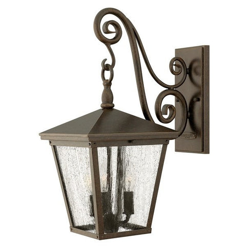Hinkley Trellis Medium Wall Lantern - London Lighting - 1