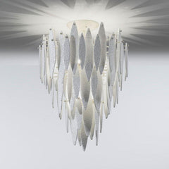 Ice Rain Small Murano Glass Ceiling Light