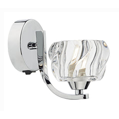 Ivy Polished Chrome Wall Bracket - London Lighting - 1