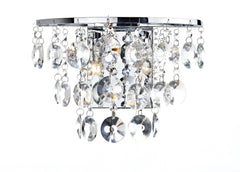 Jester Chrome Wall Light - London Lighting - 1