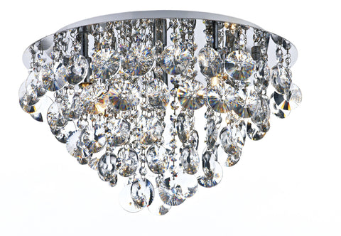 Jester Chrome 5 Lamp Ceiling Light - London Lighting - 1