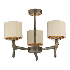 Joshua Three Lamp Ceiling Light